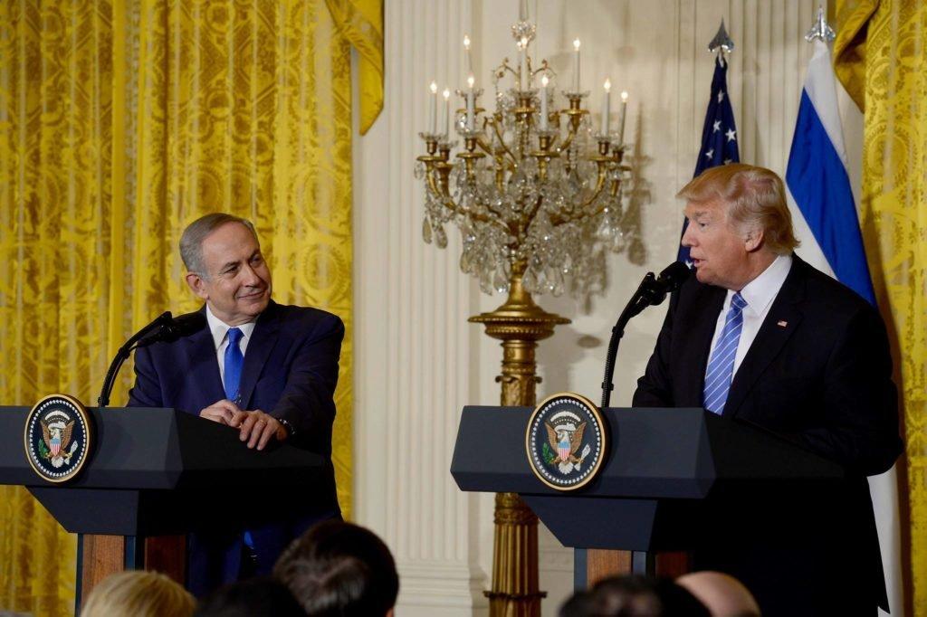 Česká společnost přátel Izraele Netanjahu_Trump Trump netrvá na vzniku státu Palestina Izraelská politika