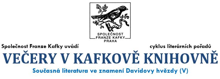 Český spolek přátel Izraele Večery-v-kafkově-knihovně Pozvánka na literární večer Kultura