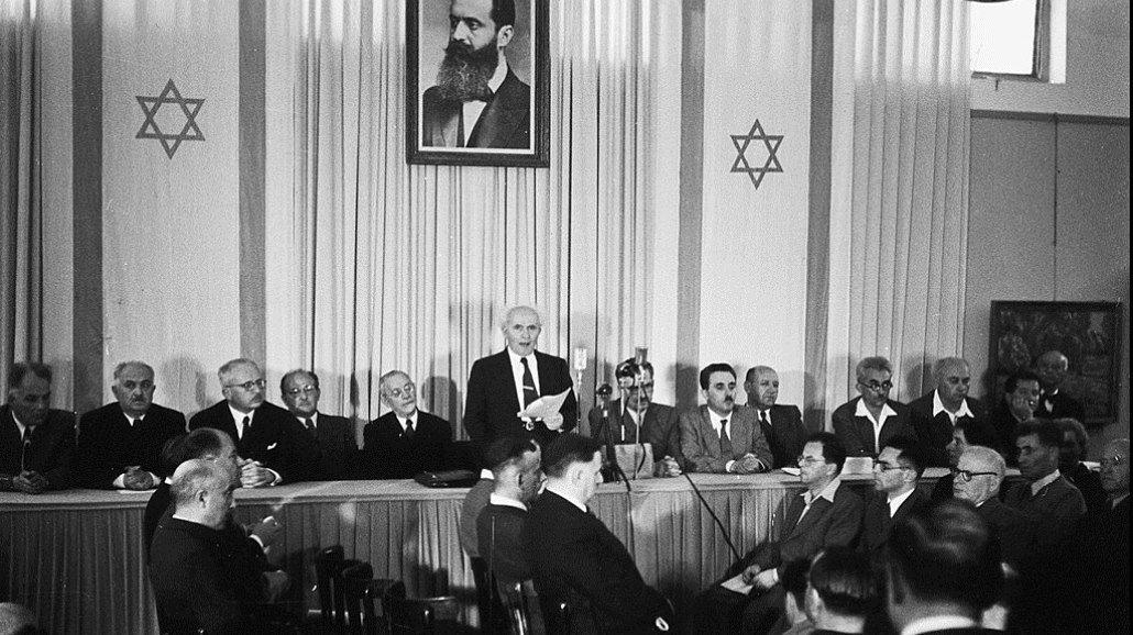 Český spolek přátel Izraele David-Ben-Gurion Seriál - část III.: Teror na obou stranách, zbraně z ČSR. Stát Izrael se rodil v bolestech Historie Izrael a svět