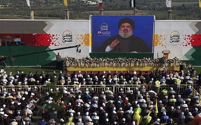 Česká společnost přátel Izraele AP_18159591815691-e1528482415914-640x400 Hezbollah's Nasrallah threatens Israel: 'The day of the great war is coming' Media Monitor Zpravodajství o Izraeli v angličtině