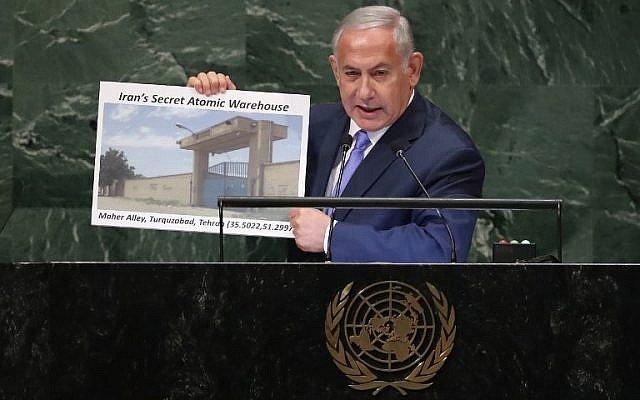 Česká společnost přátel Izraele Benjamin_Netanyahu_at_UN 'What Iran hides, Israel will find': Full text of Netanyahu's UN speech Timesofisrael.com Zpravodajství o Izraeli v angličtině