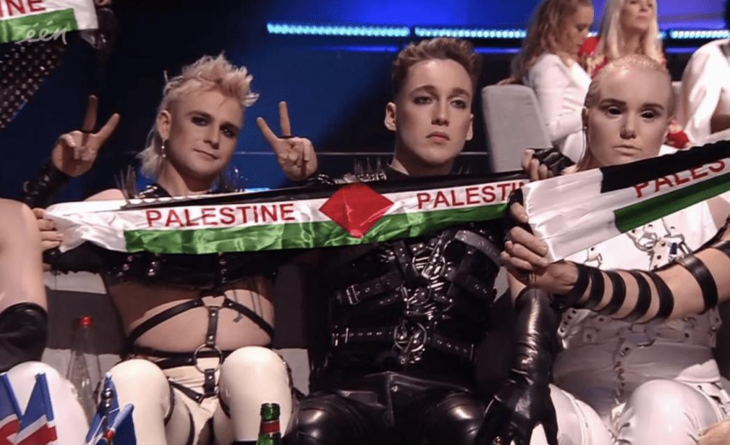 Česká společnost přátel Izraele screenshot-2019-05-19-at-00-07-00-e1558227814442 Islandská kapela ukázala během finále Eurovize palestinskou vlajku, od publika si vysloužila pískot Izrael a svět Kultura Zpravodajství